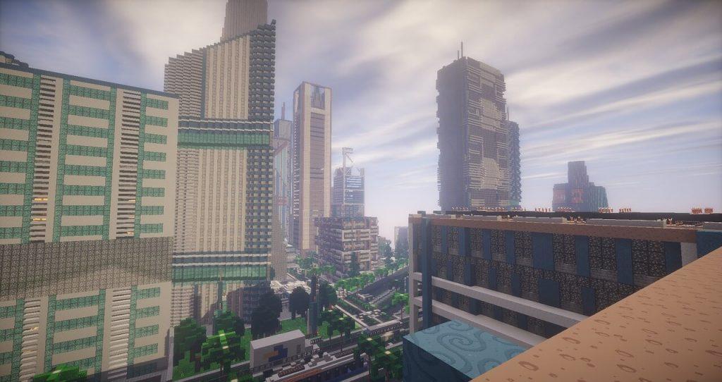 minecraft-city